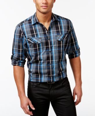 INC International Concepts Men's Guillaume Classic-Fit Shirt, Only at Vogily