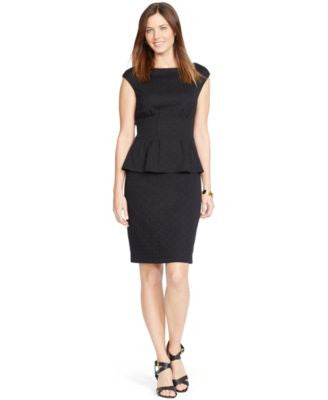 American Living Peplum Sheath Dress