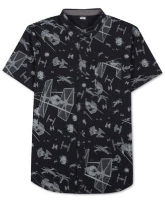 Men's Star Wars Print Short-Sleeve Shirt