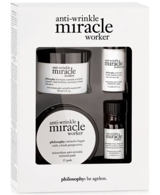 philosophy anti-wrinkle miracle worker trial kit