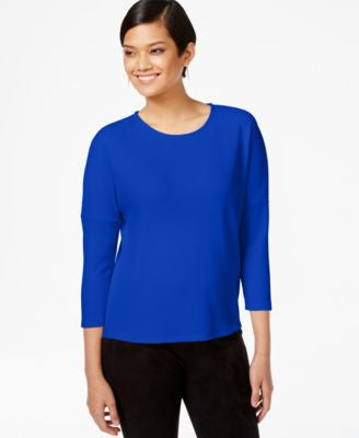 Bar III Elbow-Sleeve Top, Only at Vogily