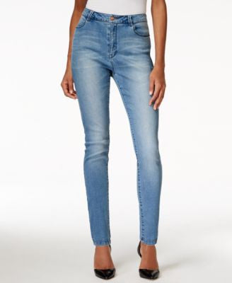 Nanette by Nanette Lepore Gramercy High-Rise Skinny Sapphire Wash Jeans, Only at Vogily