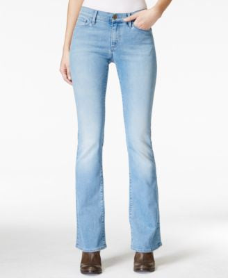 Buffalo David Bitton Faith Cloud Wash Slim-Flared Jeans