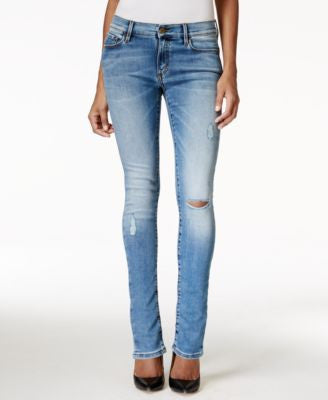Buffalo David Bitton Faith Ripped Skinny Torpedo Wash Jeans
