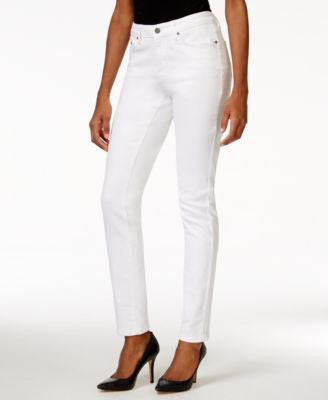 Earl Jeans Skinny Ankle White Wash Jeans