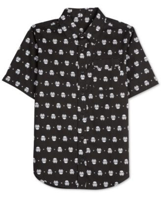 Men's Star Wars Stormtrooper Print Shirt