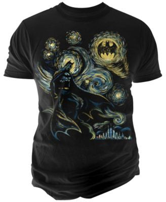 Changes Men's Abstract Batman T-Shirt