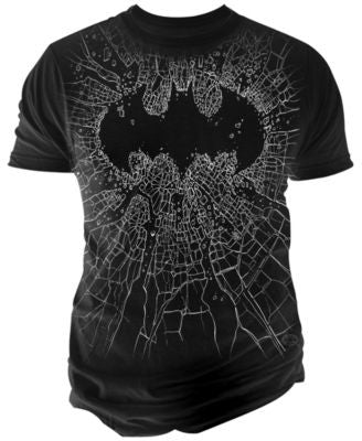 Changes Men's Batman Broken Glass T-Shirt