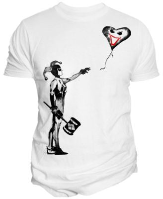 Changes Men's Harley Quinn Stencil T-Shirt