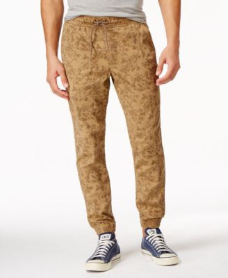 American Rag Men's Floral-Print Joggers, Only at Vogily