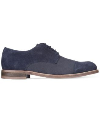 Alfani Men's Eric Cap Toe Oxfords, Only at Vogily