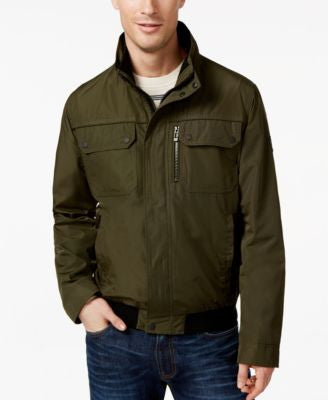 Calvin Klein Mens Full-Zip Jacket
