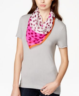 Vince Camuto Connect the Dots Silk Square Scarf