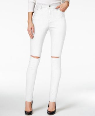 Nanette by Nanette Lepore Gramercy Ripped Skinny Jeans, Only at Vogily