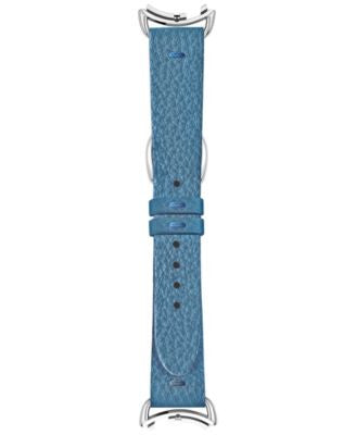 Fendi Timepieces Women's Selleria Blue Leather Watch Strap S01RR17RA3S