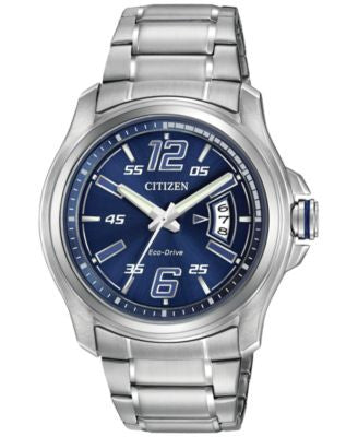 Citizen Men's Drive from Citizen Eco-Drive Stainless Steel Bracelet Watch 43mm AW1350-83M
