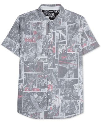 Jem Men's The Empire Reverse Graphic-Print Short-Sleeve Star Wars Shirt