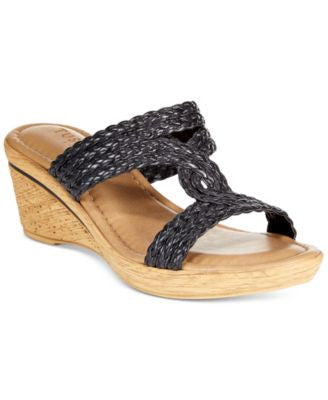 Tuscany by Easy Street Loano Wedge Sandals