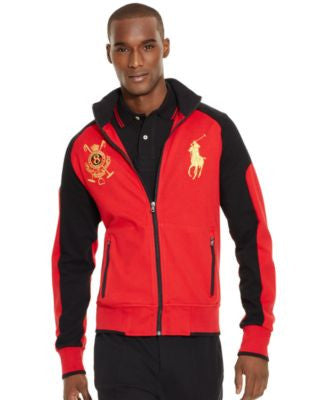 Polo Ralph Lauren Men's Embroidered Full-Zip Long-Sleeve Sweater