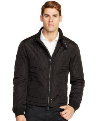 Polo Ralph Lauren Men's Diamond-Quilted Long-Sleeve Jacket