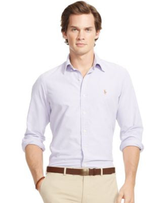 Polo Ralph Lauren Men's Long-Sleeve Oxford Shirt