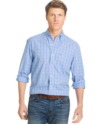IZOD Windowpane Shirt