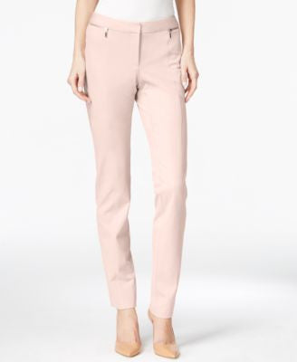Alfani Zip-Pocket Slim-Leg Trousers, Only at Vogily