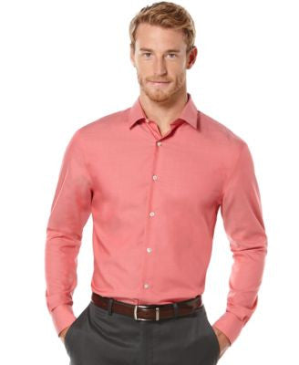 Perry Ellis Big and Tall Non-Iron Travel Luxe Performance Shirt