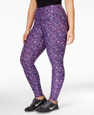 Calvin Klein Performance Plus Size Printed Leggings