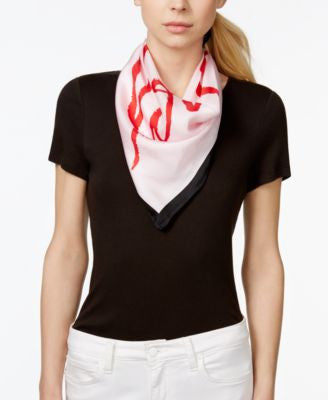 kate spade new york Printed Square Silk Scarf