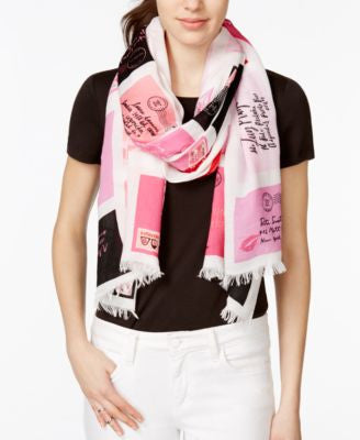 kate spade new york Love Letters Scarf