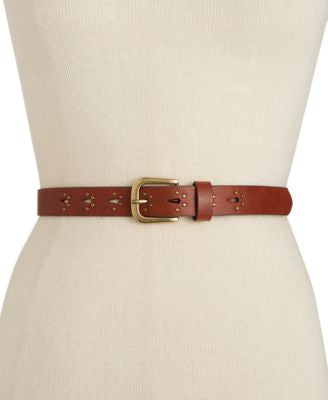 INC International Concepts Studded Keeper Belt, Only at Vogily