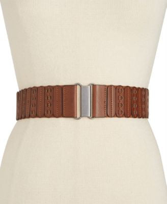 Style & Co. Casual Panel Stretch Belt, Only at Vogily