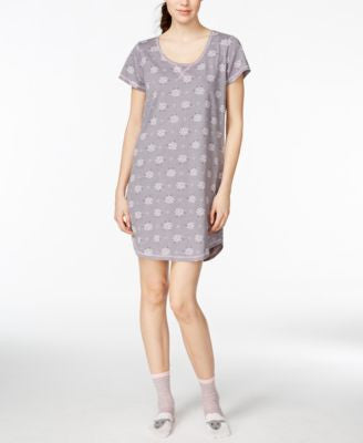 Jenni by Jennifer Moore Sleepshirt and Socks Set, Only at Vogily