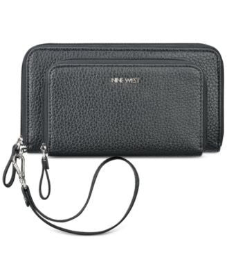 Nine West Table Treasures Double Zip Wristlet