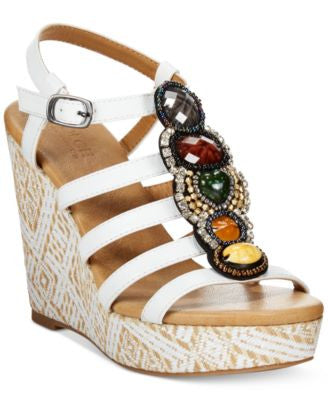 Dolce by Mojo Moxy Corona Platform Wedge Sandals