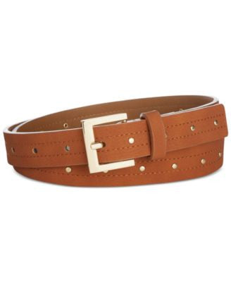 Style & Co. Studded Pant Belt, Only at Vogily