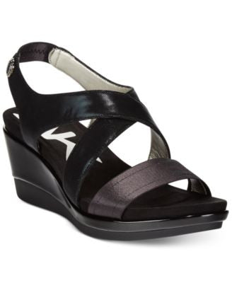 Anne Klein Pawel Crisscross Wedge Sandals