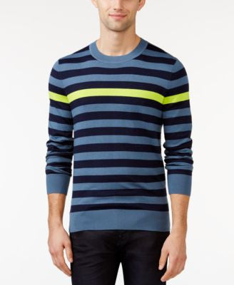 Tommy Hilfiger Santiago Striped Crew-Neck Sweater