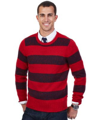 Nautica Lofty Twist Striped Sweater