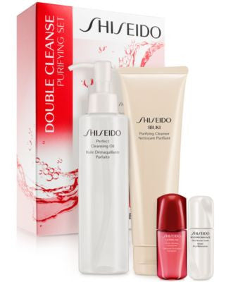 Shiseido Double Cleanse Purifying Set - A $105 Value!