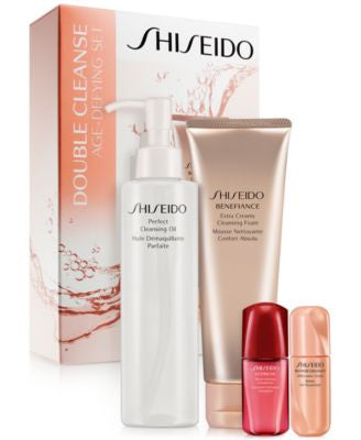 Shiseido Double Cleanse Age-Defying Set - A $112 Value!