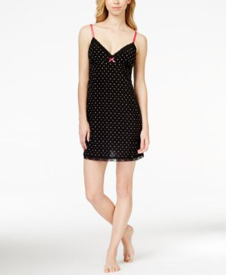 Jenni by Jennifer Moore Hearts and Dots Chemise, Only at Vogily