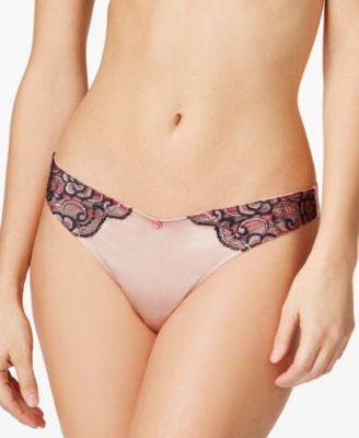 Heidi Klum Intimates Sunrise Love Satin Thong H37-1343
