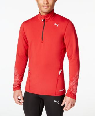Puma Men's PWRWARM Half-Zip Shirt