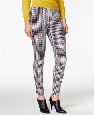 Hue Houndstooth Loafer Ponte Leggings