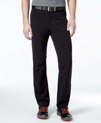 Calvin Klein Stretch Twill Black Wash Pants