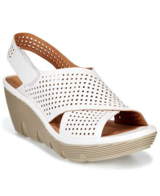 Clarks Artisan Women's Clarene Award Slingback Wedge Sandals