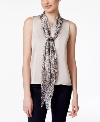 Vince Camuto Femme Leopard Scarf