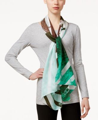 Vince Camuto Origami Geo Print Scarf